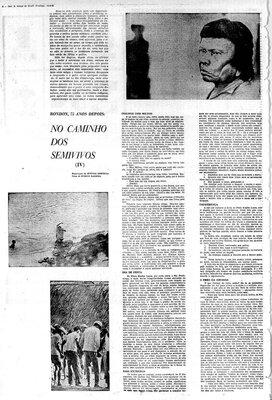 A Terceira Margem – Parte CCCXXVI - Expedição Centenária Roosevelt-Rondon 3ª Parte – XXXIV  No Caminho dos Semivivos - IV