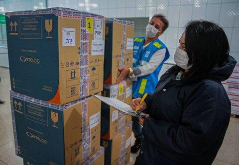 Maior lote de vacinas contra a covid-19 é recebido em Rondônia; 140.580 doses de imunizantes são entregues