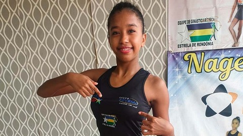 Apoiada pelo Grupo Rovema, ginasta rondoniense competirá em torneio nacional em Porto Alegre/RS