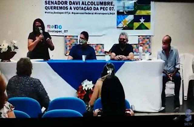 Transposição de servidores rondonienses avança em Brasília